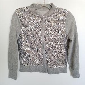 🌼Justice Sequin Lightweight Sweater
